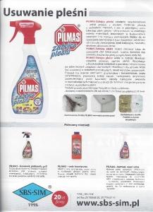 Świat Wnętrz Pilmas zabójca pleśniobój